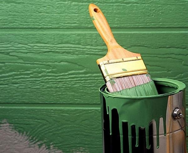 Фасадная краска и область ее применения