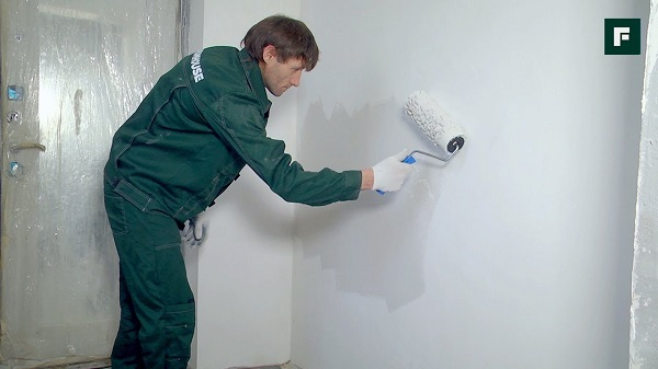 Покраска стен своими руками