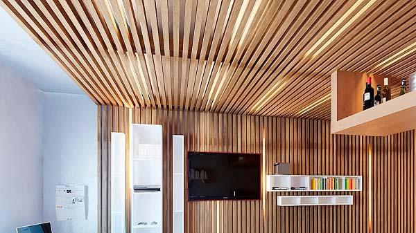 Деревянные потолки. Их преимущества