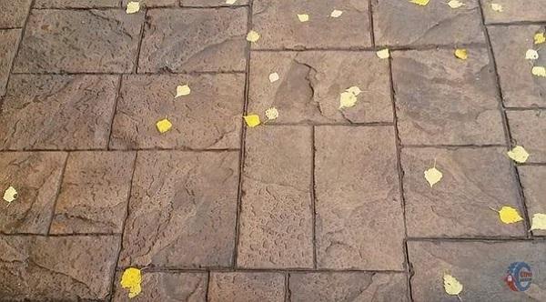 Декоративный бетон. Назначение и применение в строительстве