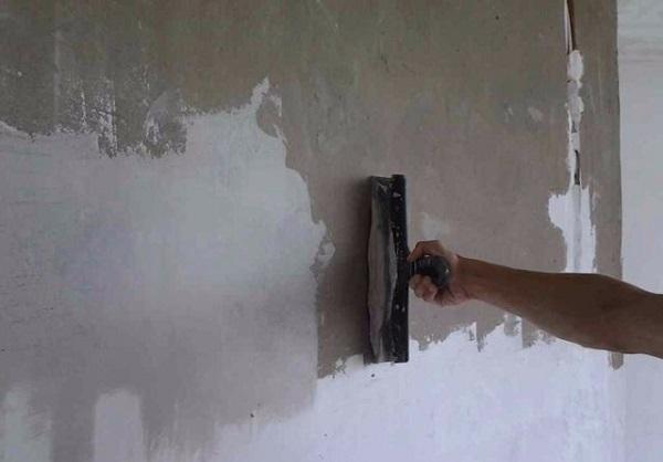 Подготовка стен к проведению ремонтных работ